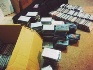 カセットテープの保管について